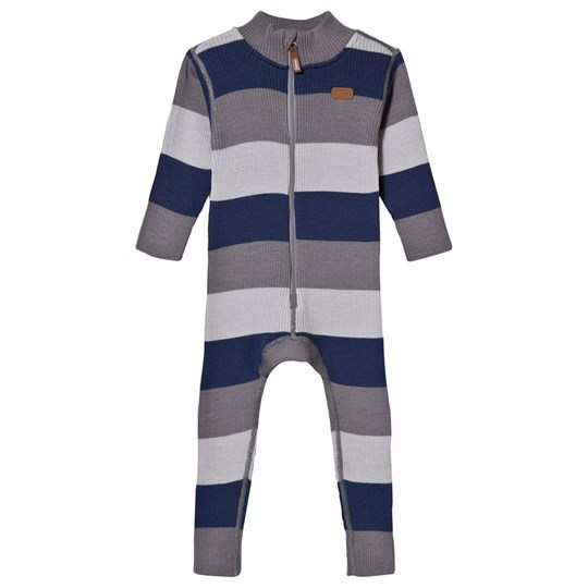 Voksi Wool Rib One-Piece Petrol Petrol