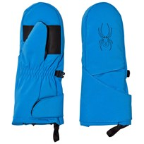 Spyder Blue Younger Cubby Ski Mittensn 434 FRB/BLK