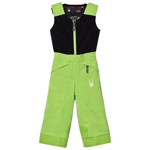 Image of Spyder Green Colour Block Mini Expedition Snow Pants 2 years (2808735075)