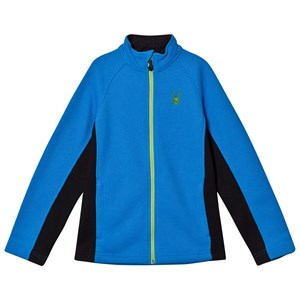 Image of Spyder Blue Constant Full Zip Stryke Mid Layer Jacket S (7-8 years) (2808735767)