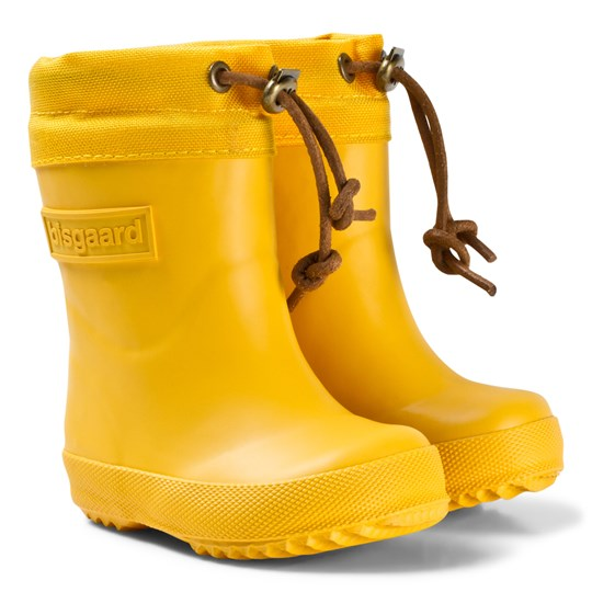 Bisgaard Thermo Rubber Boots Yellow Yellow