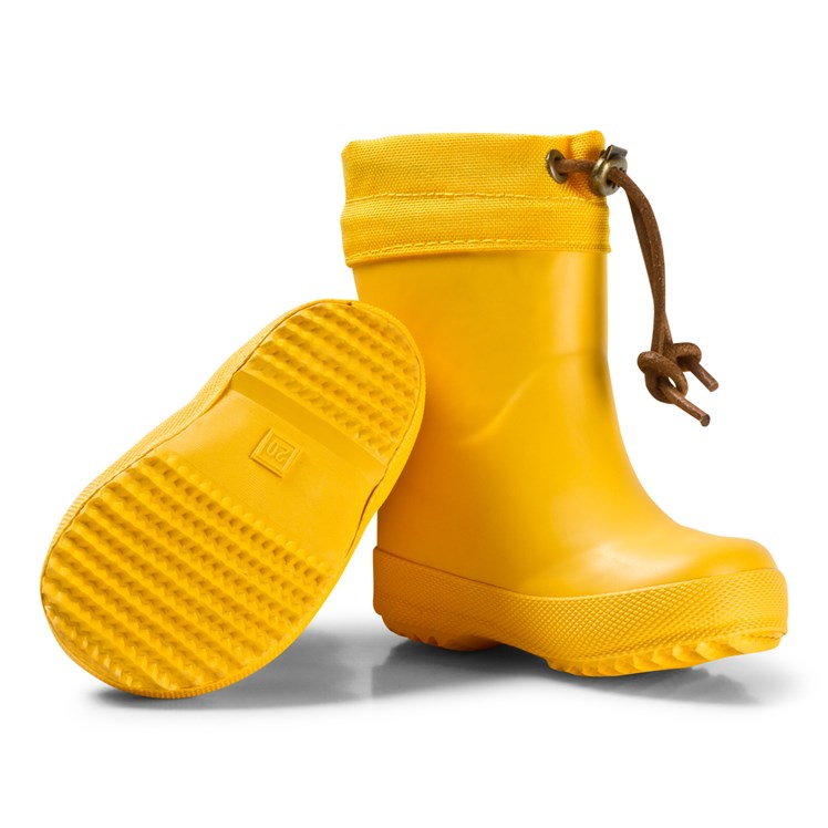 Bisgaard Thermo Rubber Boots Yellow Babyshop.no
