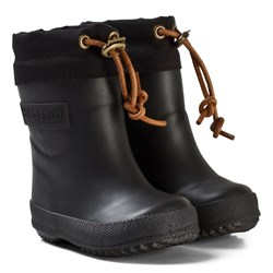 Bisgaard Thermo Wool Rubber Boots Black