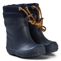 Bisgaard Thermo Wool Rubber Boot Blue Blue