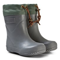 Bisgaard Thermo Wool Rubber Boot Grey Grey