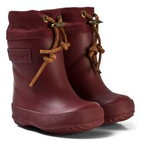 Bisgaard Thermo Wool Rubber Boot Bordeaux Red