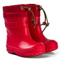 Bisgaard Thermo Wool Rubber Boot Red Red
