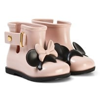 Mini Melissa Pink Sugar Rain Minnie and Mickey Rain Boots 51647