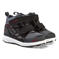 Viking Veme Vel Shoes Mid GORE-TEX® Black/Red Black