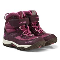Viking Winter Boots Sludd Gore-Tex® Aubergine/Plum Purple