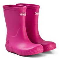 Viking Classic Indie Rubber Boots Fuchsia Pink