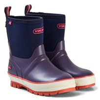 Viking Solan Neo Rubber Boots Purple