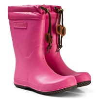 Bisgaard Rubber Boot Wool Pink Rosa