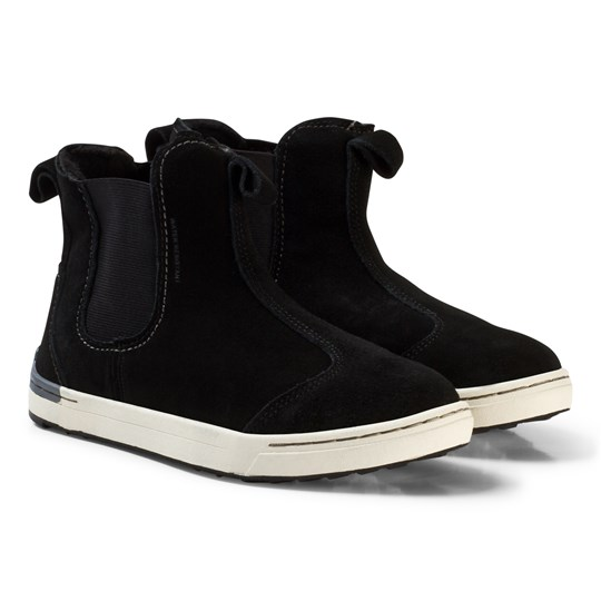Viking Rim Mid Winter Boots Black/White Black
