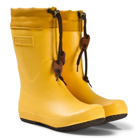 Bisgaard Rubber Boots Yellow Yellow