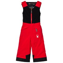 Spyder Red Colour Block Mini Expedition Ski Pants 600 RED/BLK
