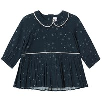 Molo Crystala Dress Navy Stargazer Navy Stargazer