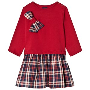 Image of Jessie & James Red and Tartan Jersey Kilt Dress 12 years (2905269211)