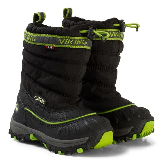 Viking Windchill Gtx Black/Lime Black