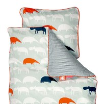 Done by Deer Baby Zoopreme Bedlinen Blue - Sweden Blue