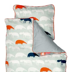 Done by Deer Junior Zoopreme Bedlinen Blue - Sweden