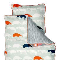 Done by Deer Junior Zoopreme Bedlinen Blue - Sweden Blue