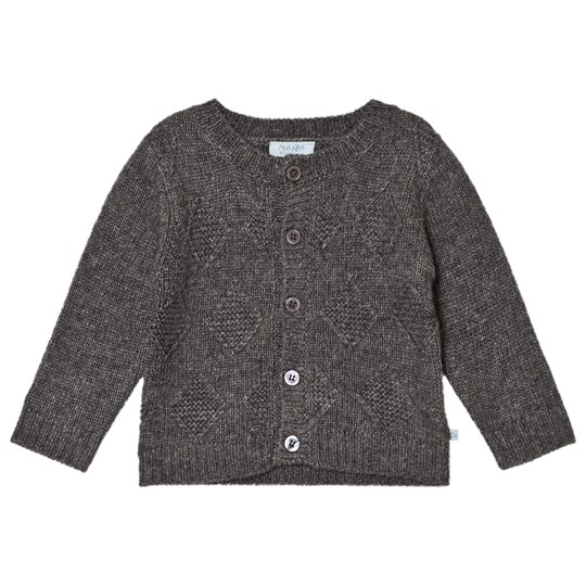 Noa Noa Miniature Cardigan,Long Sleeve DARK GREY MELANGE Dark Grey melange