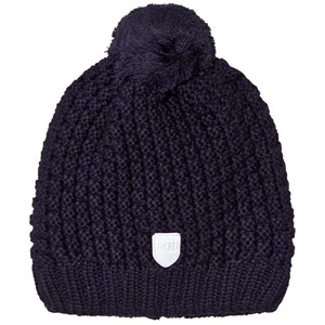Image of Ticket to heaven Knitted Bobble Hat Navy 49 cm (2861290517)
