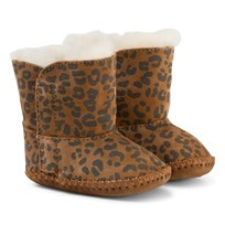 UGG Cassie Leopard Chestnut BROWN