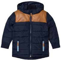 ebbe Kids Trevor Quiltad Parkas Deep Lake Blue Deep lake blue