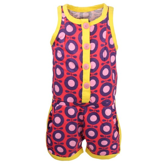 Katvig Girls Suit Rouge & Blueberry Red