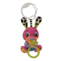 Playgro Stroller Toy Wiggling Bunny Multi
