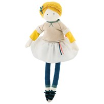 Moulin Roty Mademoiselle Eglantine Doll Yellow
