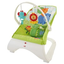 Fisher Price Rainforest Friends Comfort Curve™ Bouncer Multi