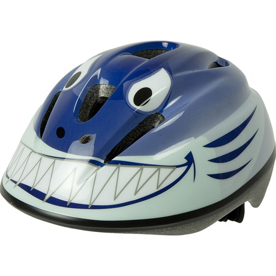 OK-baby Shark Bicycle Helmet Blue Blue