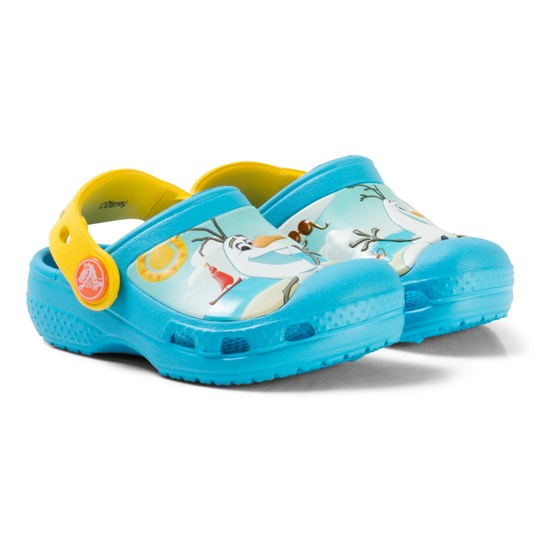 Crocs Creative Crocs Disney Frozen Olaf Clogs Electric Blue Blue