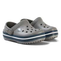 Crocs Tofflor, Kids Crocband, Smoke/Navy Marinblå