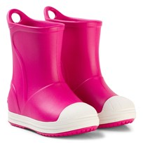 Crocs Bump It Boots, Candy Pink/Oyster Pink
