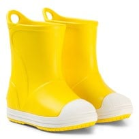 Crocs Bump It Boots, Yellow/Oyster Yellow