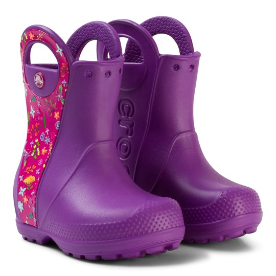 Crocs Gummistövlar, Handle It, Graphic Boot K, Purple