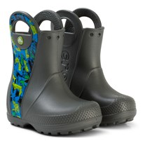 Crocs Gummistövlar, Handle It, Graphic Boot K, Black