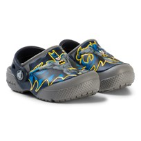 Crocs Tofflor, FunLab Batman, Smoke Black