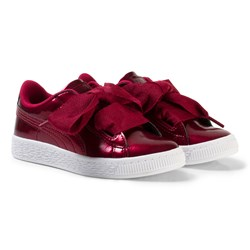 Puma Basket Heart Glam Ps Red