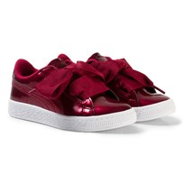 Puma Basket Heart Glam Ps Red Red