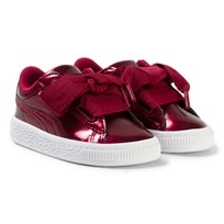 Puma Basket Heart Glam Inf Red Red