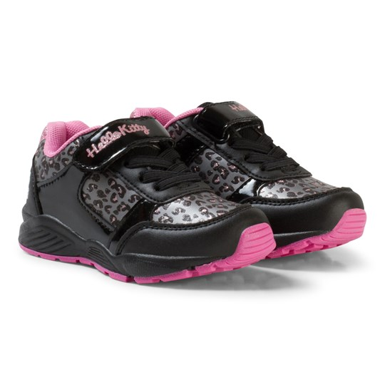Hello Kitty Sneakers Black Multi