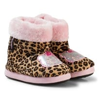 Hello Kitty Slippers Leopard Multi