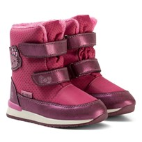 Hello Kitty Boots Lilac Purple