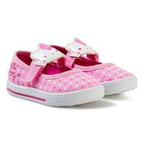 Hello Kitty Ballerina Velcro Sneakers Pink Pink