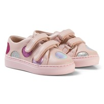 Minna Parikka Pale Pink Sneakers Low Top with Cut out Details Powder